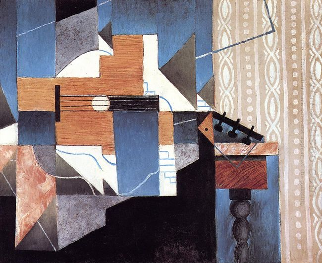 Guitar On The Table 1913