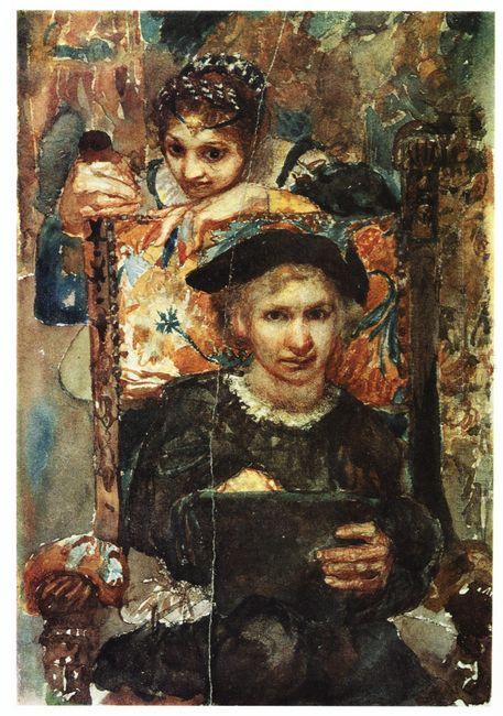 Hamlet And Ophelia 1883