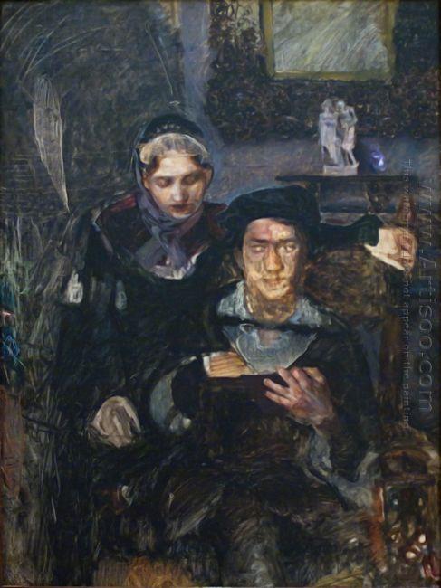 Hamlet And Ophelia 1884
