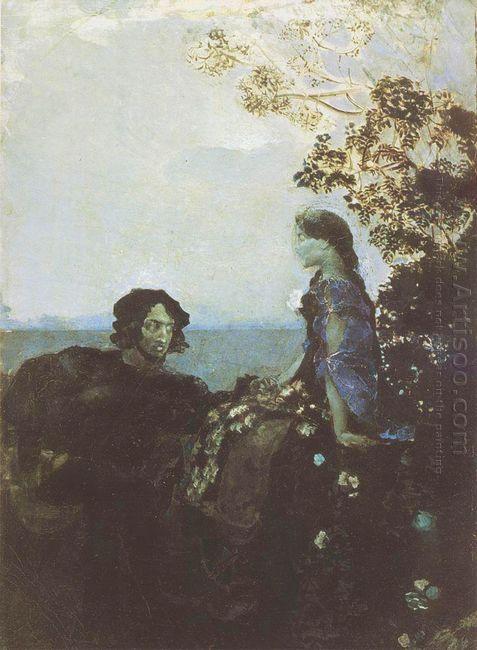 Hamlet And Ophelia 1888