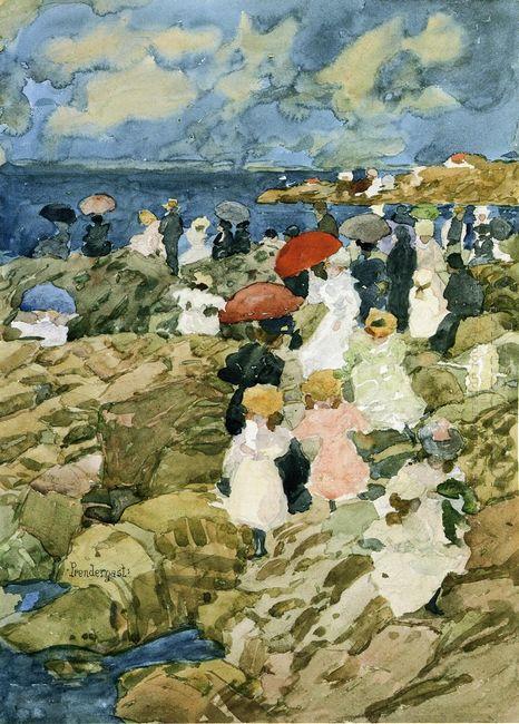 Handkerchief Point Coastal Scene