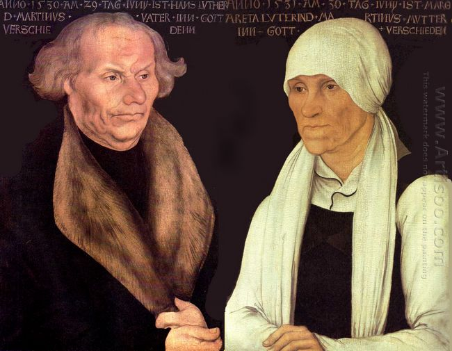 Hans And Magrethe Luther 1527