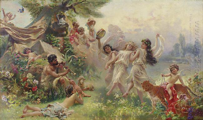 Happy Arcadia 1890