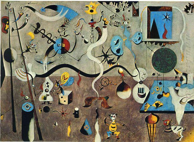Harlequin S Carnival 1925 by Joan Miro