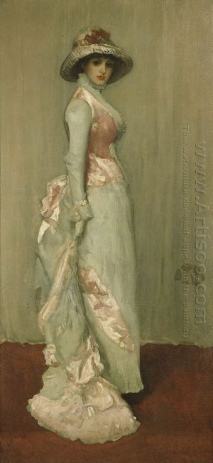 Harmony In Pink And Grey Lady Meux 1881
