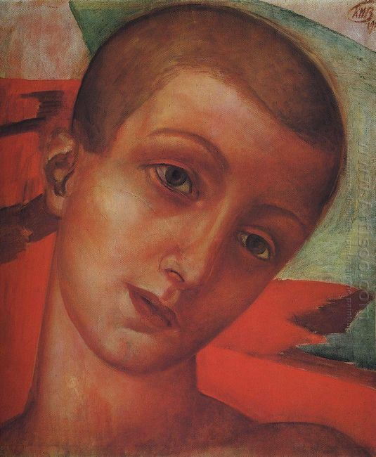 Head Of A Boy 1910