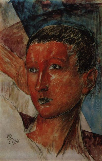 Head Of A Boy 1916