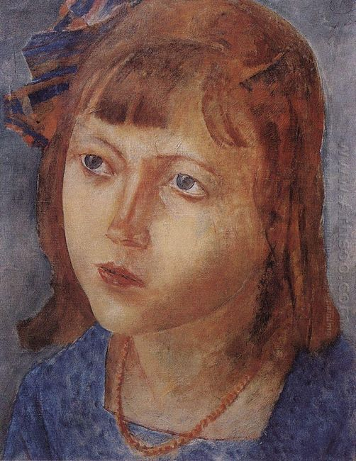 Head Of A Girl 1922