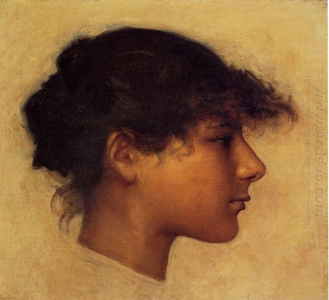 Head Of Ana Capri Girl 1878