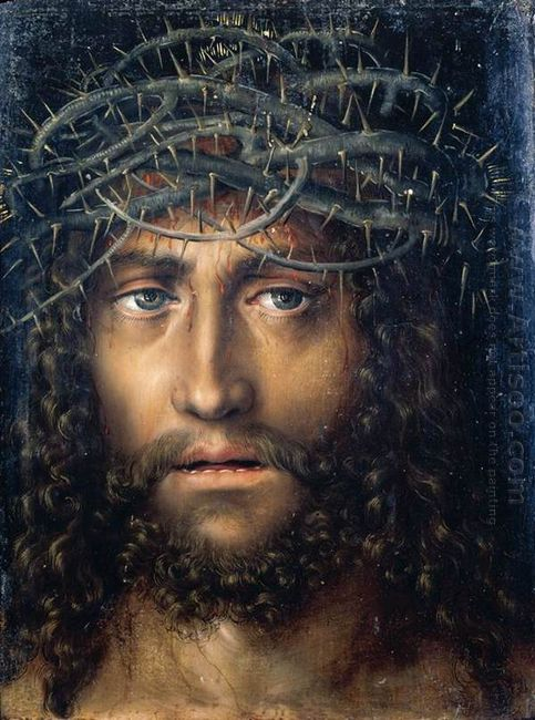 Head Of Christ Crowned With Thorns 1510