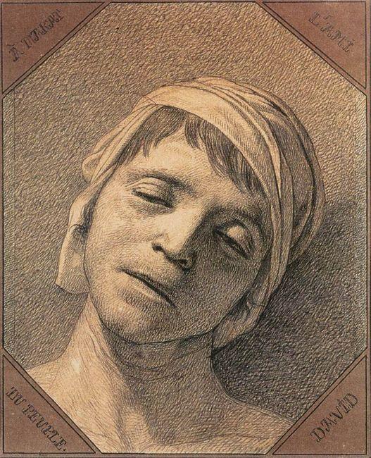 Head Of Marat 1793