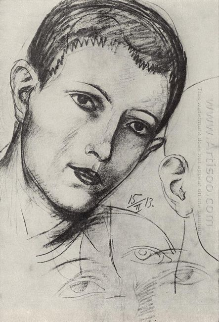 Head Of Young Man Adam 1913