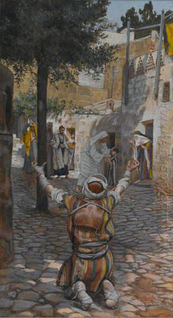 Healing Of The Lepers At Capernaum 1894