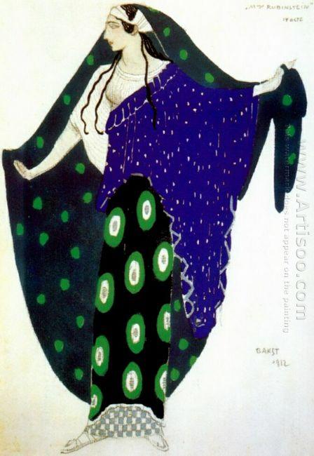 Helene De Sparte Ida Rubinstein In Act Iv 1912