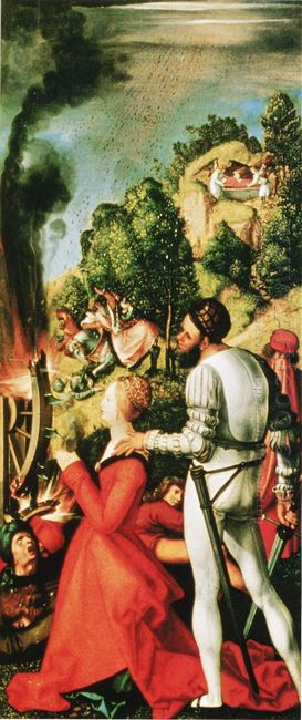 Heller Altarpiece Detail 1509