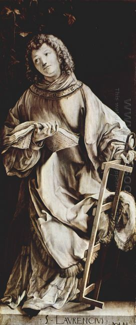 Heller Altarpiece Detail 1