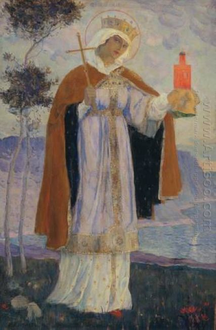 Holy Equal To The Apostles Olga 1927