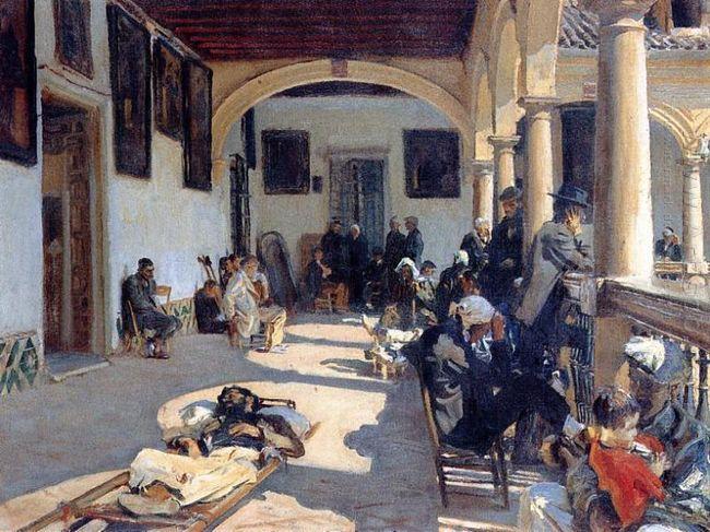 Hospital At Granada 1912