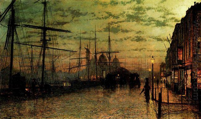 Humber Docks Hull 1884