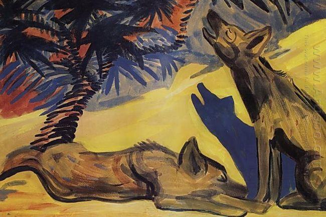 Hyenas 1909