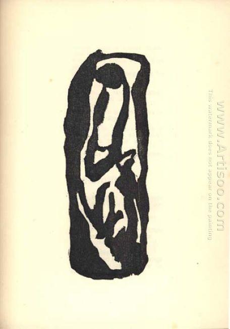 Illustration For Tristan Tzara S Vingt Cinq Po Mes 1918 7