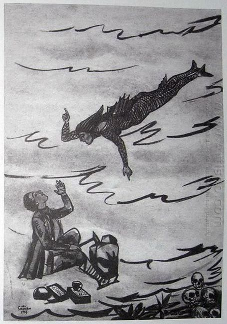 Illustration To Armenian Folk Tales 1937 10