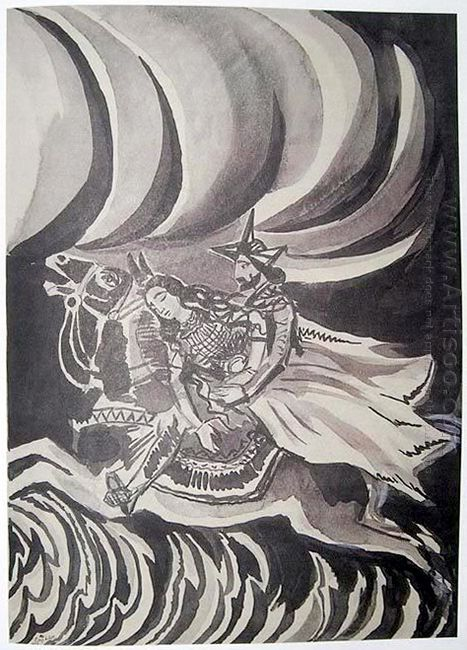 Illustration To Armenian Folk Tales 1937 6