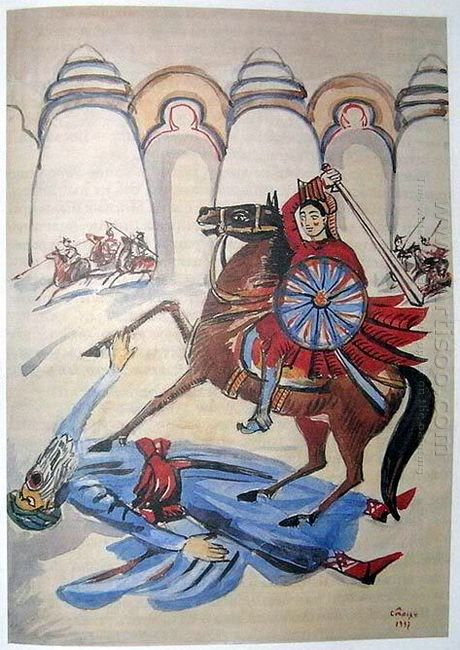 Illustration To Armenian Folk Tales 1937 7