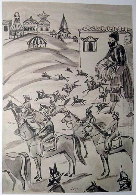 Illustration To Armenian Folk Tales 1937 9