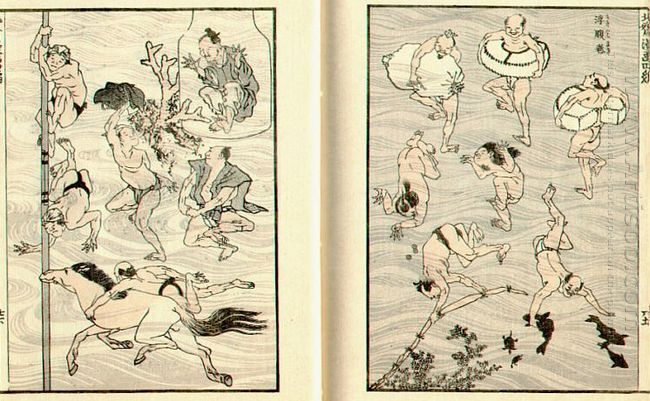 Images Of Bathers Bathing People