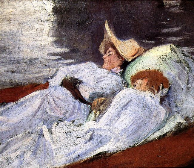 In A Punt 1889