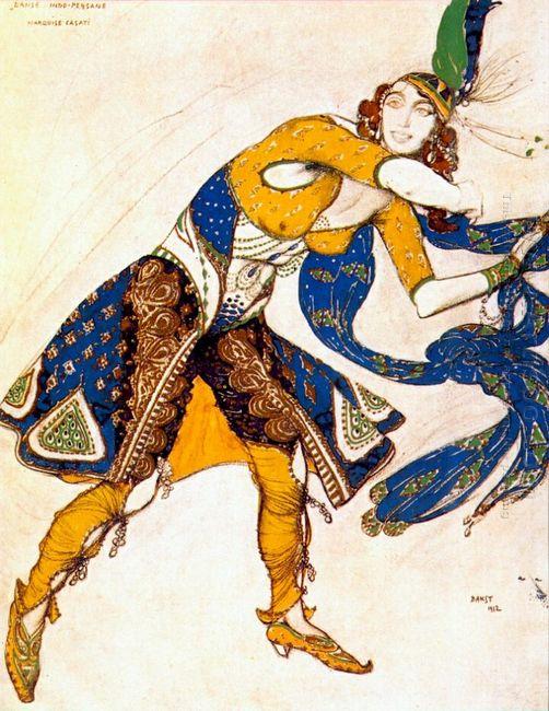 Indo Persian Dance 1912