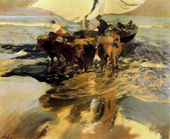 In Hope Of The Fishing 1913