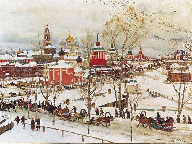 In Sergiyev Posad 1911 1