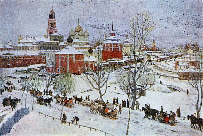In Sergiyev Posad 1911
