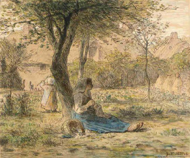 In The Garden 1862