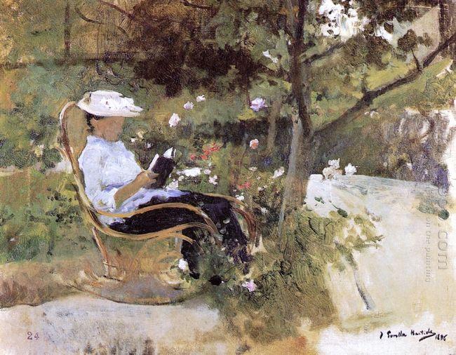 In The Garden 1896
