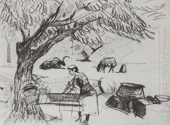 In The Garden 1928