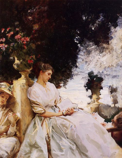 In The Garden Corfu 1909