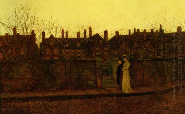 In The Golden Gloaming 1881