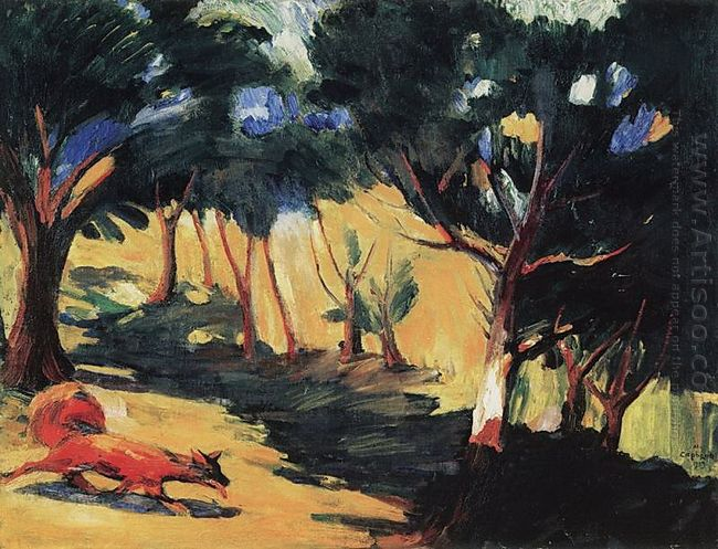 In The Grove In Sambek 1909