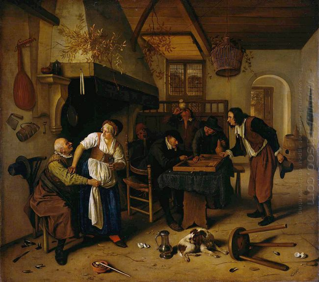 In The Tavern 1660