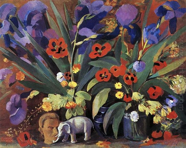 Irises And Poppies 1947