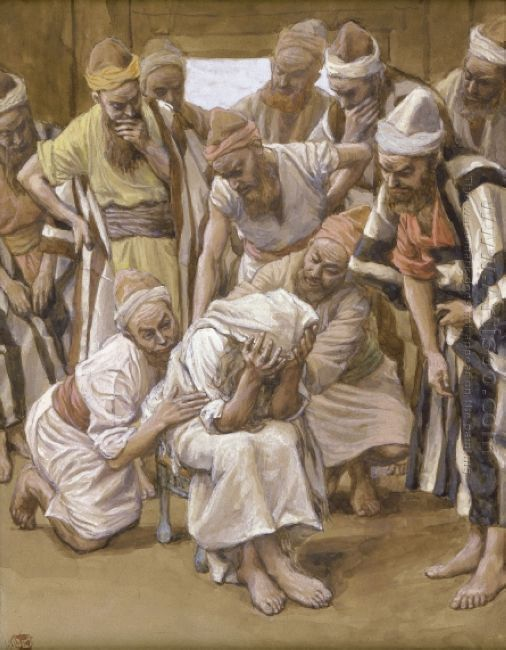 Jacob Mourns His Son Joseph