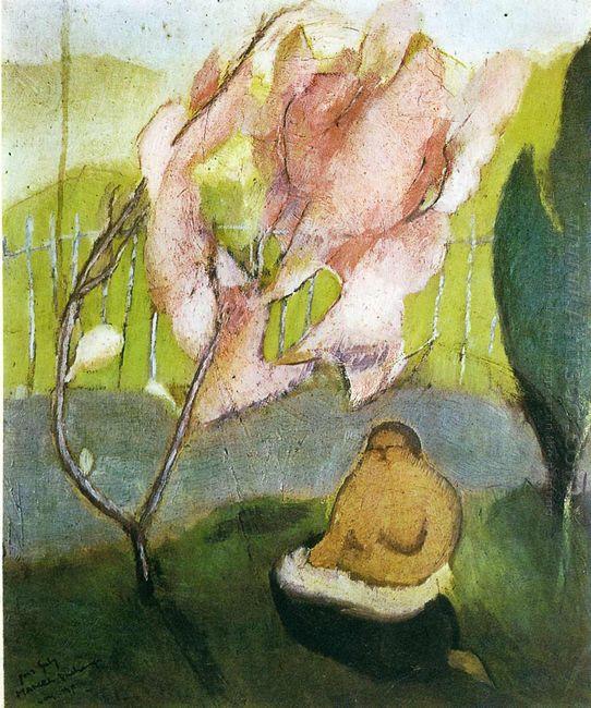 Japanese Apple Tree 1911