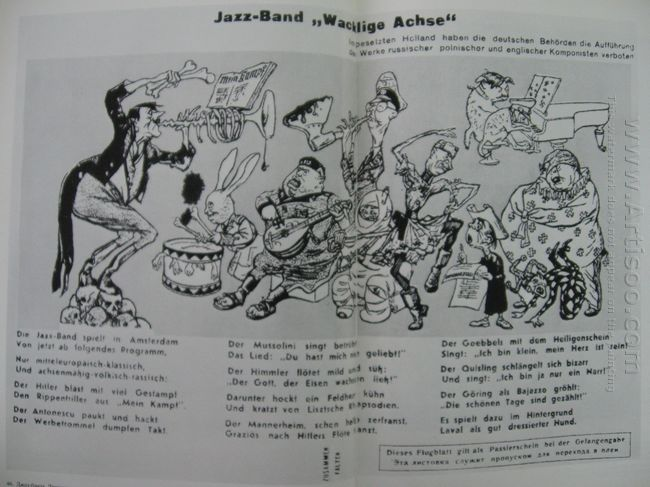 Jazz Band Wobbly Axis 1942