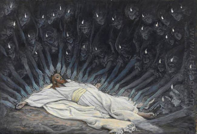 Jesus Ministered To By Angels 1894