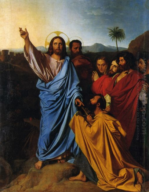Jesus Returning The Keys To St Peter 1820