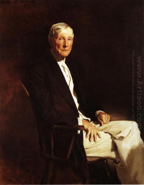 John D Rockefeller 1917