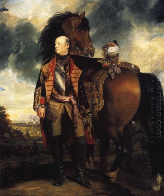 John Manners Marquess Of Granby 1765